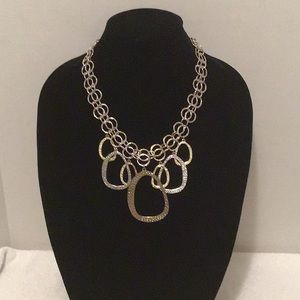Chico's Two-Tone Multi-Chain Necklace